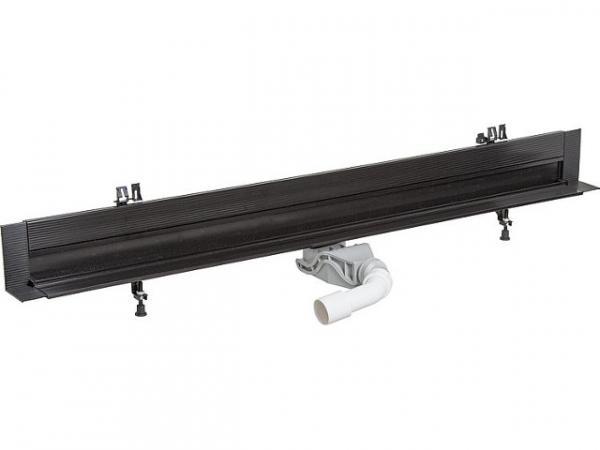 VIEGA Stegrost Advantix Vario für Wandablauf, Modell 4967.30 Visign SR1, Edelstahl, matt