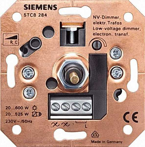 NV-Dimmer für elektronische Trafos 20 bis 600 W für Wechselschaltung / 1 Stück