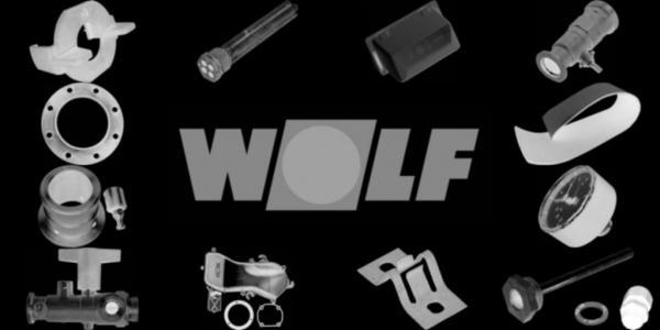 WOLF 8901551 Verkleidung Rückwand verzinkt