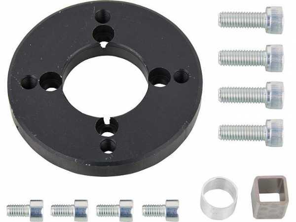 Anbausatz für elektromotorische Antriebe zu Artemis und Thesis DN 80 und DN 100