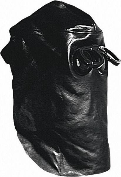 Schweißer-Lederkopfhaube ''CE'' mit hochklappbarer Brille