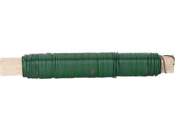 Wickeldraht 0,65mm grün 100g