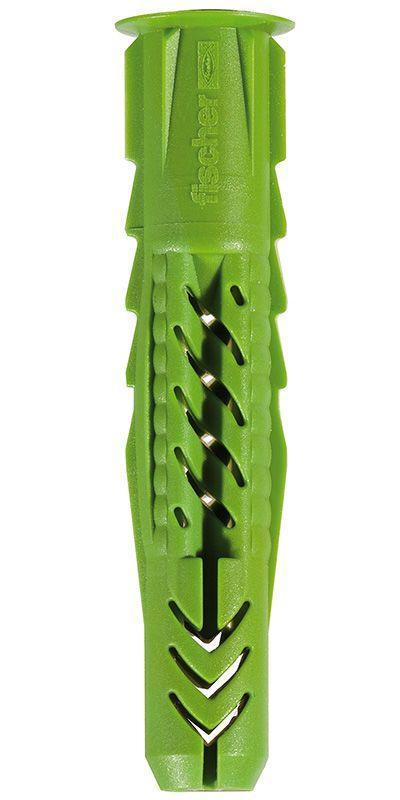Fischer 524855 Universaldübel UX GREEN 6 x 50 R mit Rand VPE 40 Stück