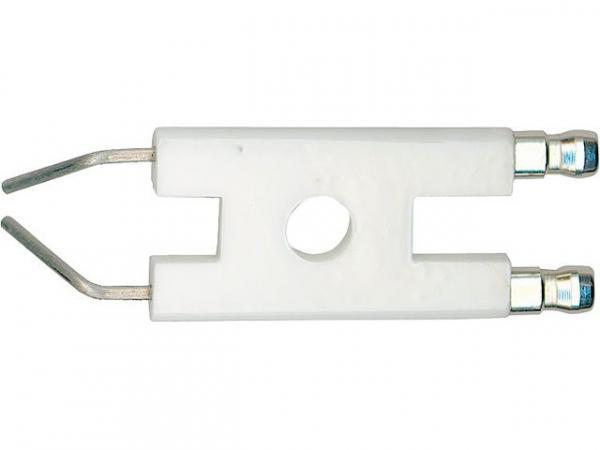 Doppelzündelektrode für Elco EL01, EL01A, EL02 Anschluss 6,3 mm Ref.-Nr.: 333.300.6428 Index D