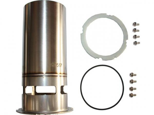 WOLF 8905660 Flammrohr Edelstahl nur für COB-15