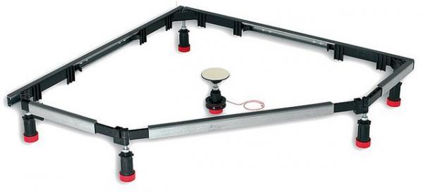 MEPA Montagerahmen SF 5-Eck und 1/4 Kreis für Acryl- und Stahlwannen
