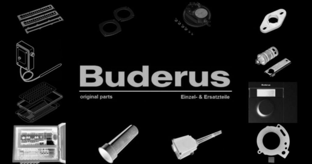 Buderus 87186632990 Ventil Rückschlagventil VL 1