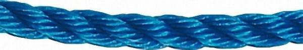 GEWA-Faserseil, Polypropylen gedreht d= 16mm, Länge 25 m Farbe blau