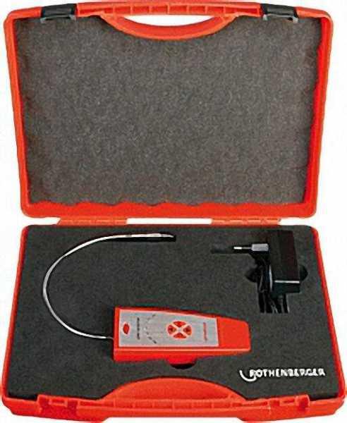ROTHENBERGER Elektronisches Lecksuchgerät RO-LEAK, batteriebetrieben 2 x 1, 5 V Typ ''C''