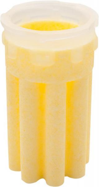 AFRISO ES-9231-1 Heizölfiltereinsatz Sinterkunststoffsiebeinsatz Sternform-gelb 50