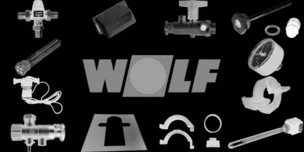 WOLF 2796001 Brennerstörlampe