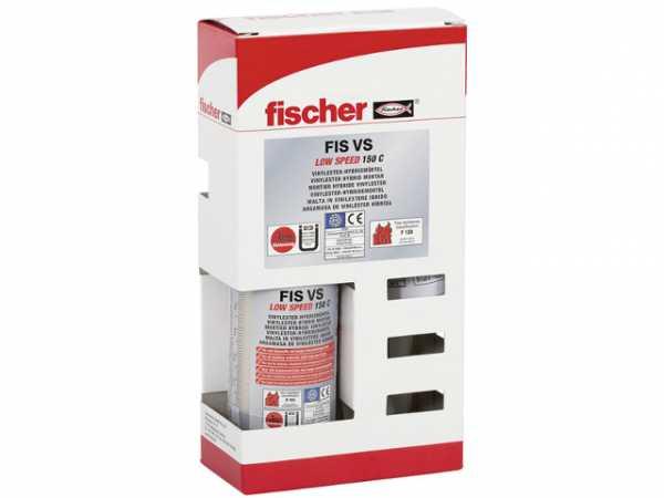 Fischer Montagemörtel FIS VL 150 C SET, 519548, VPE 1 Stück