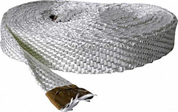 Asbestfreies Gewebeband 10x3mm Glasfaser VPE = 10 Meter