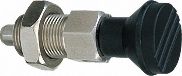 Arretierbolzen Niro M 10 x 1 D=5 Form B