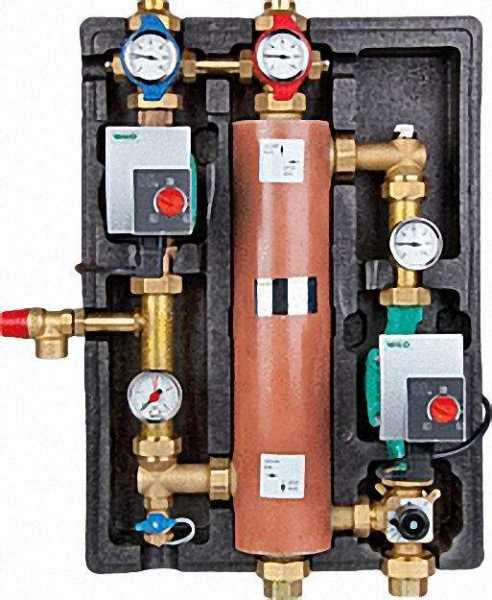 Systemtrennung WILO-Safe Typ:WS5-24 mit Yonos Pico Hocheffizenz Pumpe