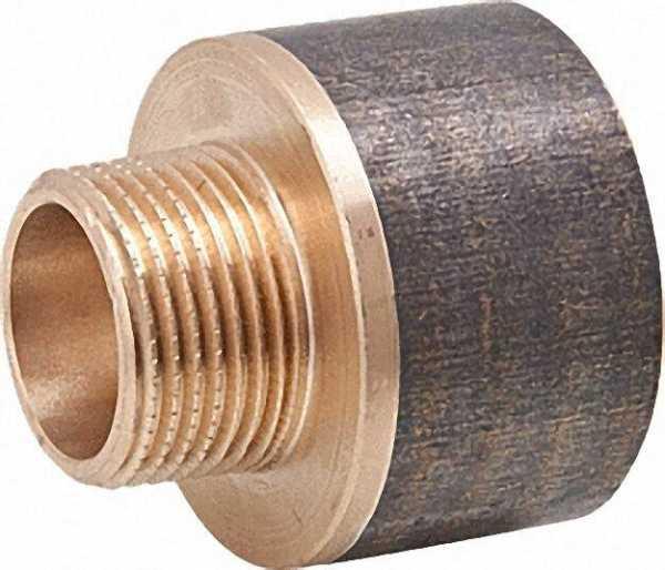 Rotguß-Gewindefitting SpitzMuffe Typ 3242 1/4''x 3/8'' A/I