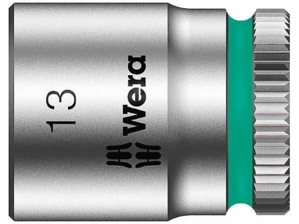 Steckschlüsseleinsatz WERA 1/4', 6-kant, kurz, SW 4,0 Länge 23mm