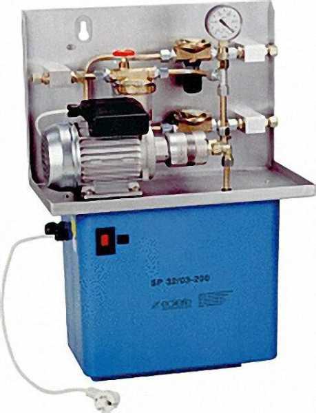 ECKERLE Saugpumpenaggregat SP32 03-200 180l/h bei 9,5m Saughöhe