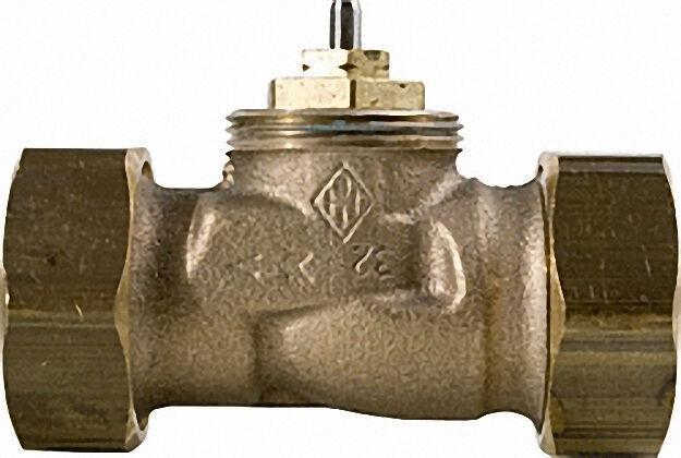 Thermostat-ventilunterteil Durchgang flachdichtend DT 15 (1/2''), Kvs