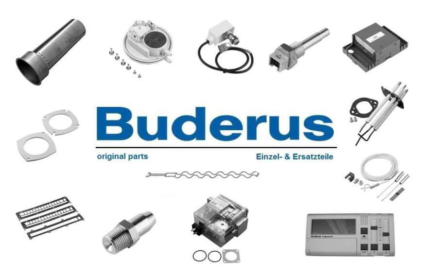 Buderus 7101180 Rohr-Verbindung-Vorl