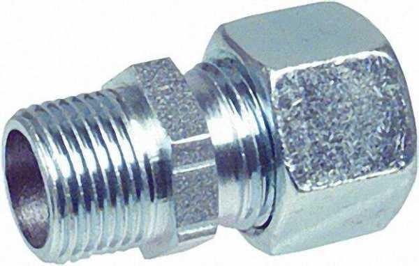Stopfbuchs-Verschraubung SBV R 1/2'' 15mm Stahl