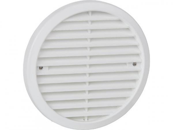 Lunos 039852 Außengitter weiß d=180mm aus Kunststoff für e²