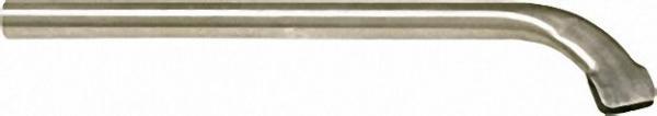Flachsaugdüse mit angeformten Stahlblechschlitten 38mm Dm / L=520mm