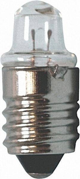 Spitzlinsenbirne 2,5V, 0. 3A, E10