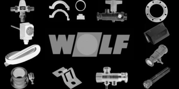 WOLF 3910388 Dichtprofil Frontverkleidung 2,2m