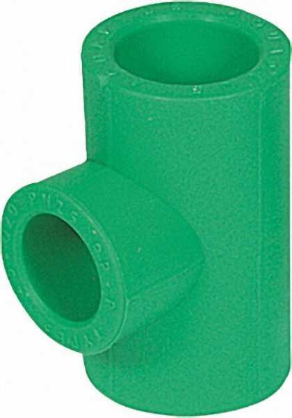 PPR Rohr Aqua-Plus Reduzier-T-Stück PN25 32x25x32