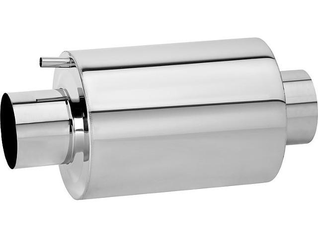 Abgas-Schalldämpfer aus Edelstahl DN 130 in T-Form