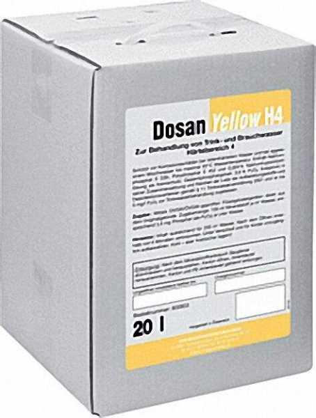BWG Wasserchemie Dosan H4 20 kg Härtebereich 4=(ab 21°dH)