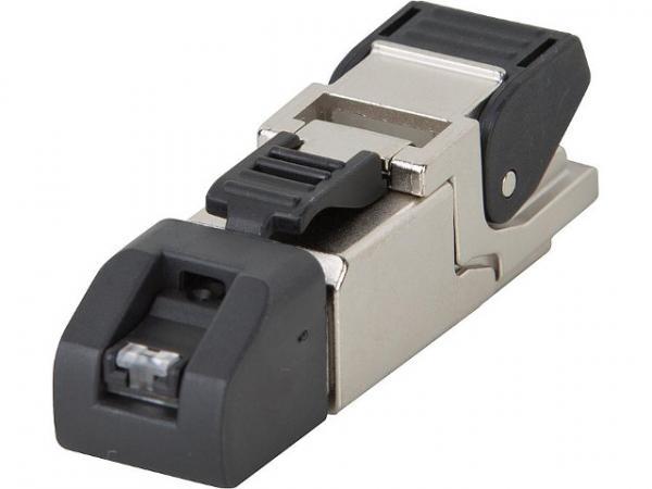 RJ45-Steckverbinder MFP8 T568 A Cat.6A(IEC), A 1 Stück