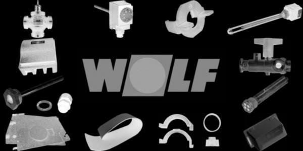 WOLF 8751751 Fronttür, Silber