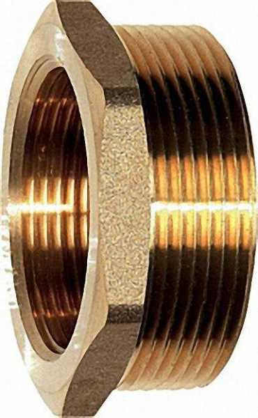 Anschluss-Stücke mit Innengewinde 2 Stck. flachdichtend 1 1/2'' passend für Verteileranschluss 2''