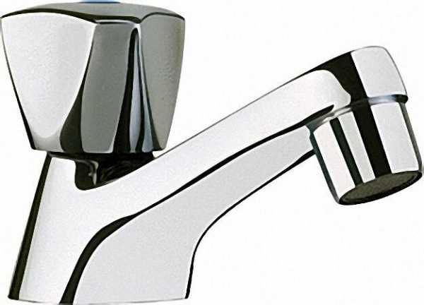 EVENES Kaltwasser Standventil 1/2'' Chrom Ausladung = 100mm