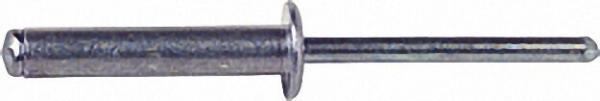 Blindniete Alu/Alu Standard Flachrundkopf D3, 2 x L9, 2 VPE 500