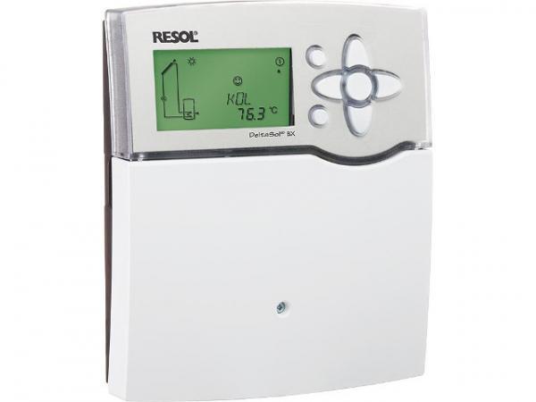 RESOL Differenztemperaturregler DeltaSol BX Komplettpaket mit 5 Fühler