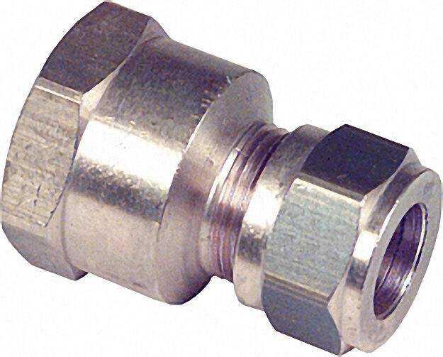 Klemmringverschraubung Messing Muffen-Verschraubung 54x2'' WG809