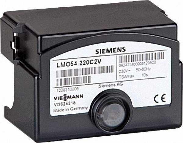 SIEMENS Ölfeuerungsautomaten LMO 54.220 C2 passt für Viessmann Vitoplus Referenz-Nr.: 7816307
