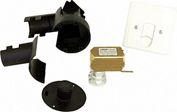 Gassteckdose nach VP635 für Unterputz-Installation 1/2'' IG x Steckanschluss