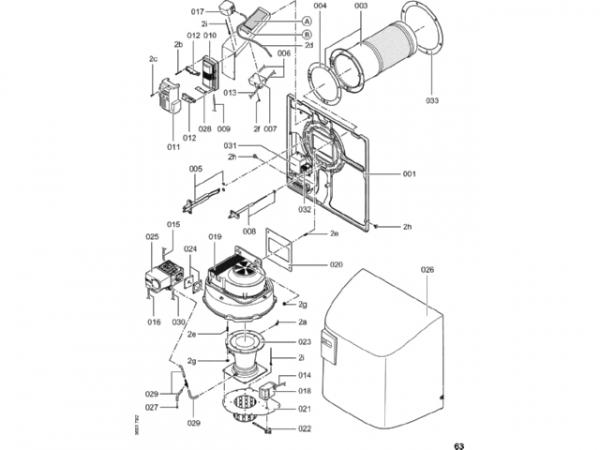 Viessmann Zylinderbrenner CT3U 404/370kW EG-E 7311947