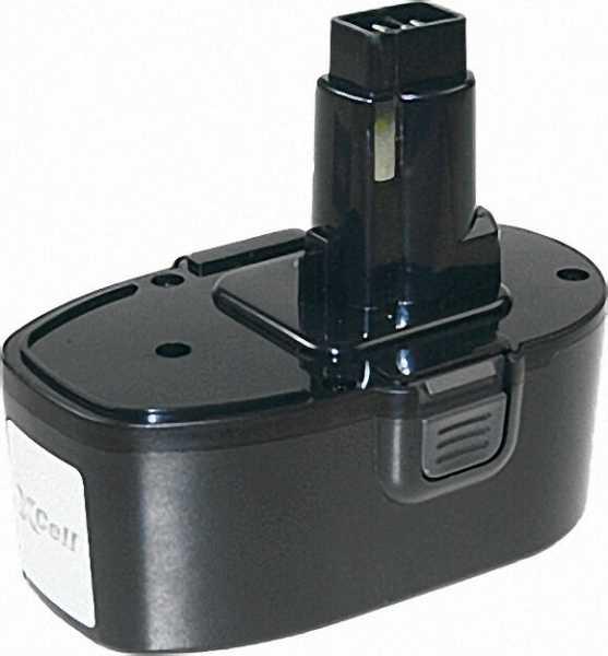Werkzeugakku für Dewalt Ni-MH, 18V, 3,0Ah