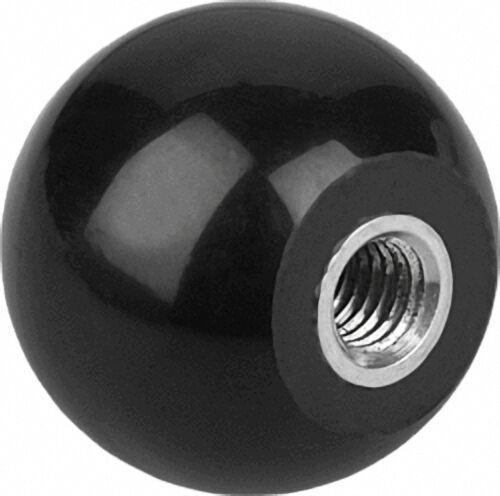 Kugelknopf mit Gewindebuchse Innengewinde M 10, Form E, Durchmesser 32mm