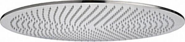 EVENES Ultraflache Kopfbrause Edelstahl gebürstet D=230mm ohne Brausearm