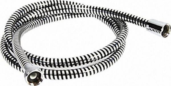 Brauseschlauch DN15-160cm Spiroflex in PVC mit konisch Überwurfmutter, ohne Dichtungen