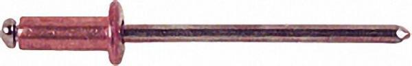 Blindniete Kupfer/Standard Flachrundkopf D4 x L8 VPE 500