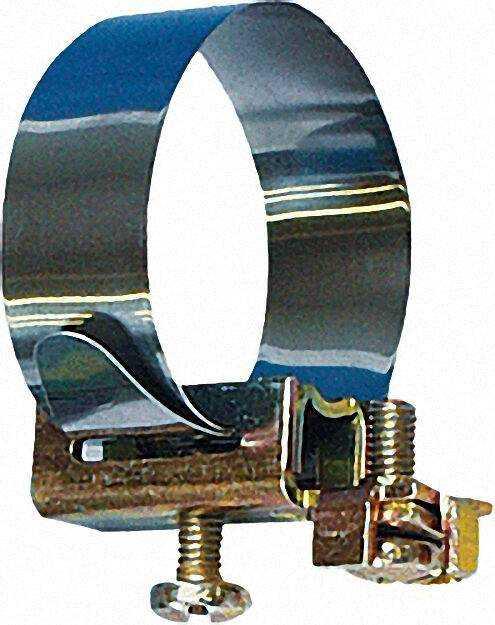 Erdungsbandschelle für Rohre 1/8'' - 3/8'' einzeln