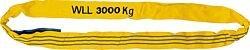 Rundschlinge aus Polyester DIN 61360/EN 1492-2 Doppelmantel Grün = 2 t / Länge 1 m