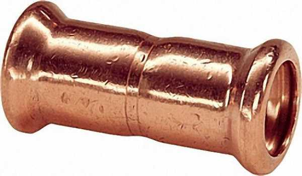 Kupfer Pressfitting Muffe i/i D: 35mm Typ 7270